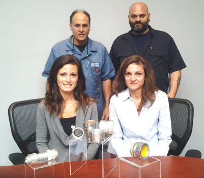 AMFICO Management Team: Allen Fischbein CEO & President (l) Dan Fischbein VP Manufacturing (r) Rachell Fischbein VP Sales & Operations (r) Heather Fischbein, VP Human Resources (l)