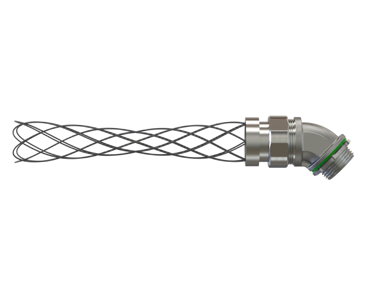 Liquid Tight Fitting Seal Tight with wire mesh strain relief