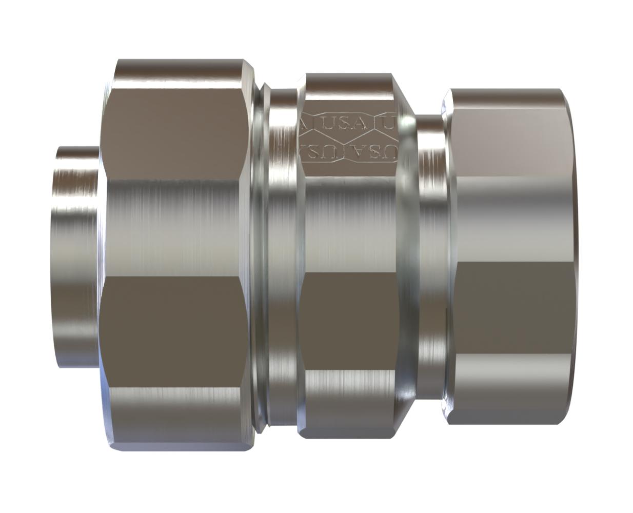 Liquid Tight to EMT Adapter Steel