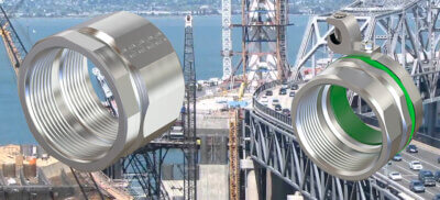 American Fittings electrical fittings for bridge construction