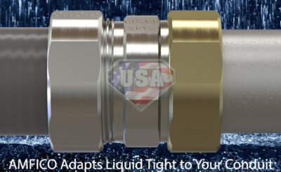 Liquid Tight to EMT or Rigid Conduit Adapters