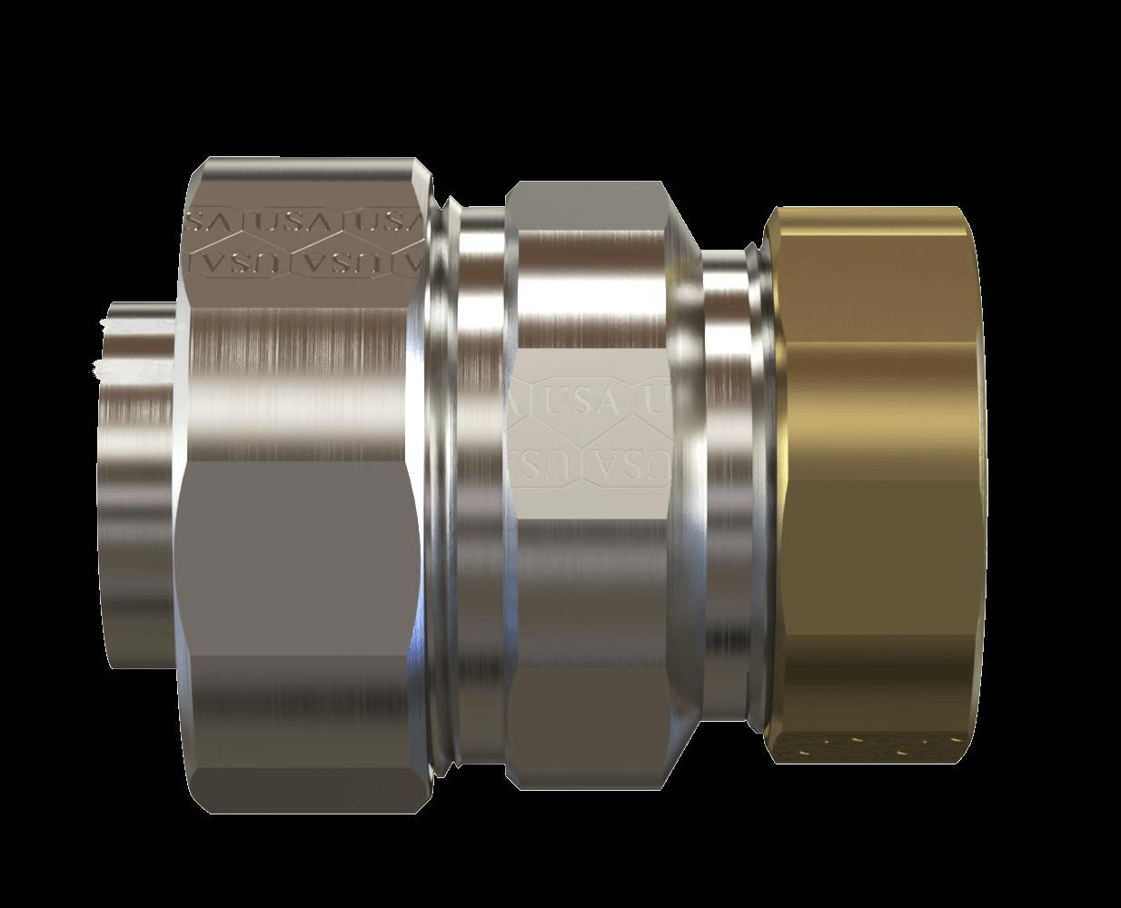 "Adapter - EMT to Liquid Tight Conduit 1/2""-4"" Steel USA"