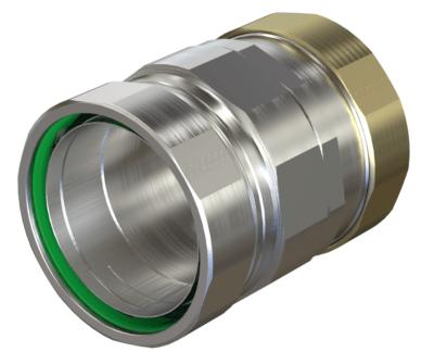Liquid Tight Adapter to Rigid Compression Conduit American Fittings