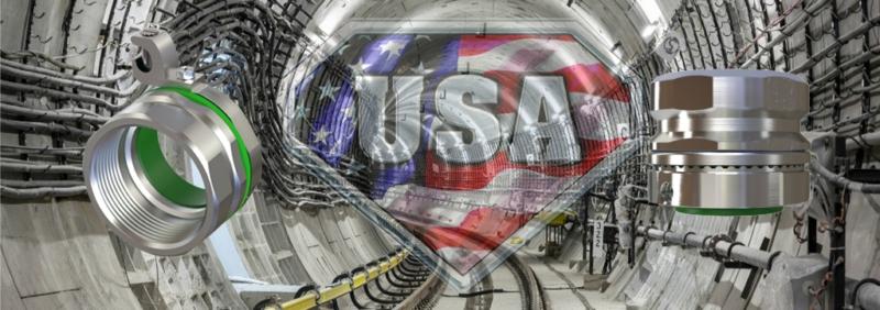 Ground Hubs Steel USA American Fittings