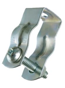 Conduit Hanger Support 1 Bolt Steel USA AMFICO vert.