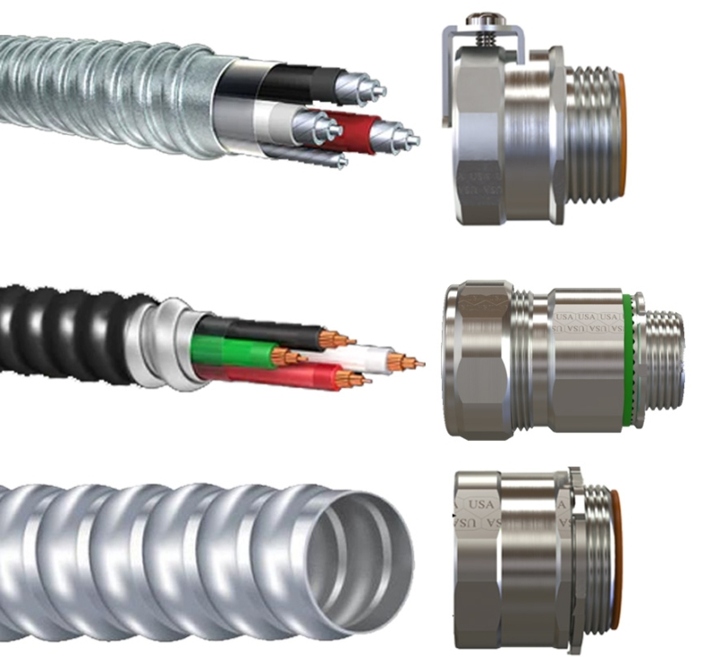 AC MC Connectors and Fittings USA