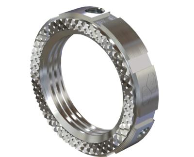 American Fittings Grounding Locknut Heavy Duty Steel USA
