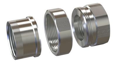 American FittingsUNF Rigid Conduit Union - Steel and Aluminum 1/2
