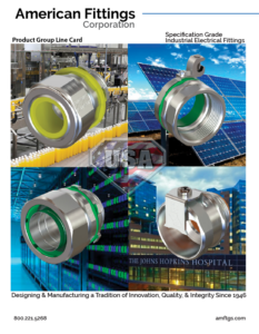 American Fittings Product Group Line Card